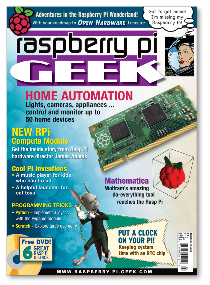 Raspberry Pi Geek #05 - Print Issue