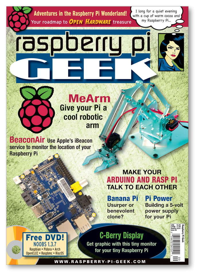 Raspberry Pi Geek #06 - Digital Issue