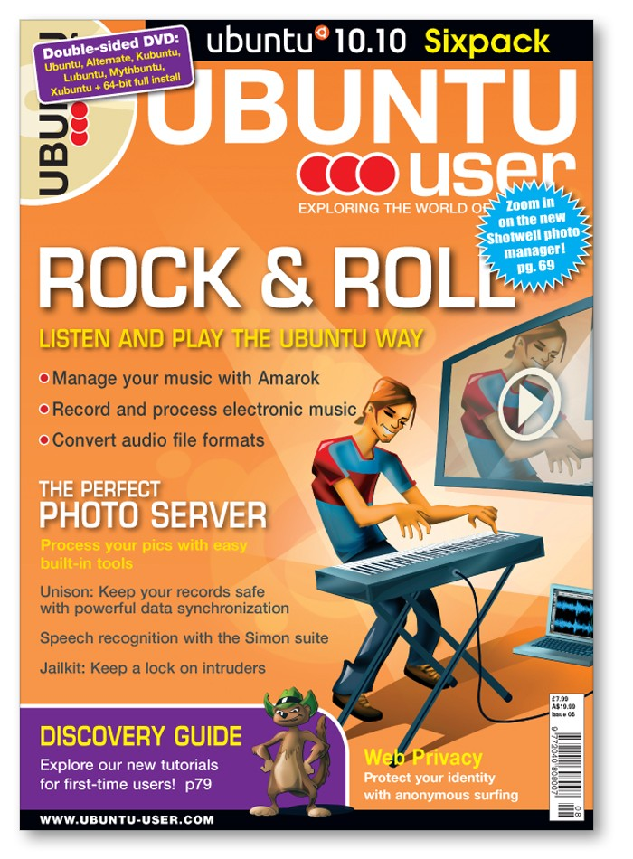 Ubuntu User #8 - Rock & Roll - SOLD OUT