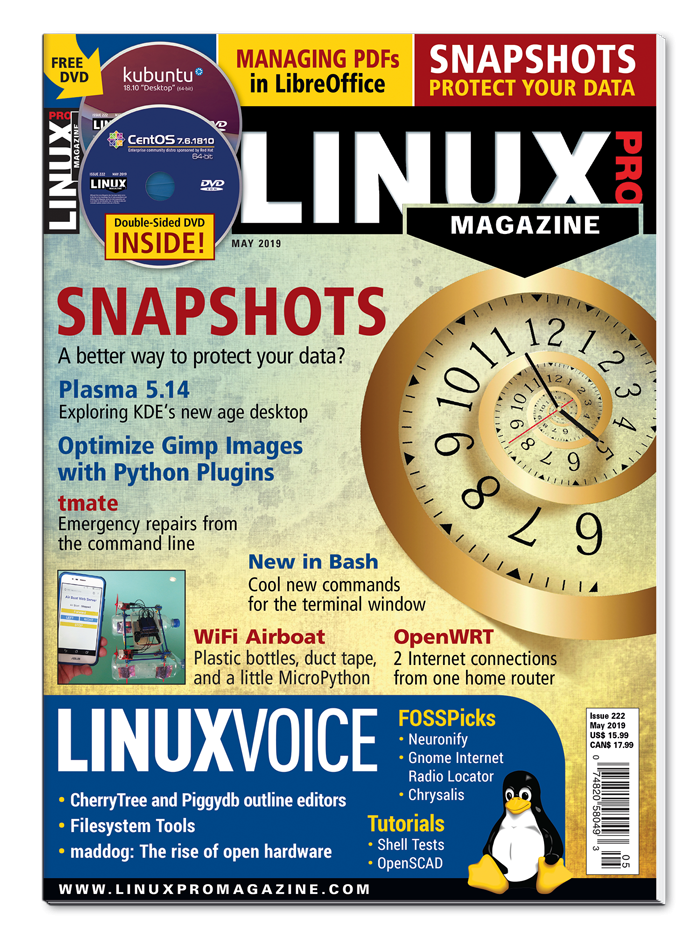 Linux Pro Magazine #222 - Digital Issue